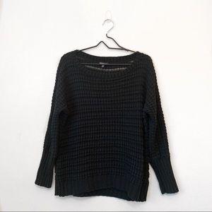 Express Black Knit Sweater